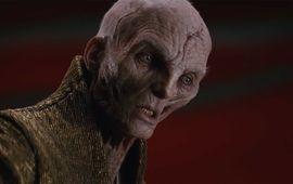 Star Wars : Rian Johnson s'explique sur la scène polémique avec Snoke dans Les Derniers Jedi