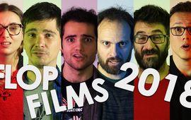 Flop films 2018 : le classement de la rédac en vidéo