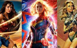 Avant Captain Marvel : de Barbarella à Wonder Woman, la super-héroïne, pour le meilleur et pour le pire