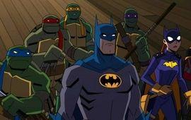 Batman vs. Teenage Mutant Ninja Turtles : critique écaillée