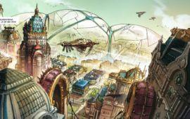Terra Prohibita - tome 1 : le mariage entre Annihilation et la tradition Steampunk