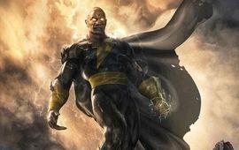 Black Adam : Dwayne Johnson dévoile une première photo de lui en costume (apparemment)