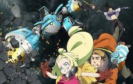 Sakugan : robots géants et Kaiju se préparent à l'affrontement sur Crunchyroll