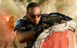The Falcon and The Winter Soldier : le nouveau Captain America dévoile son costume