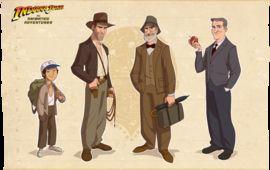 Découvrez le générique du dessin animé Indiana Jones que vous ne verrez jamais !