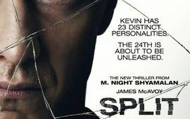 James McAvoy brise la glace dans la nouvelle affiche de Split de Shyamalan
