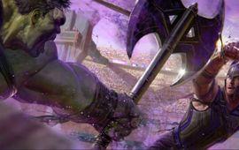 Thor Ragnarok dévoile la première image officielle du combat entre Hulk et Thor