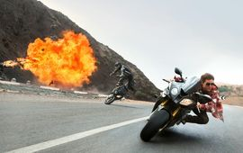 Mission Impossible 7 : Tom Cruise prépare encore une cascade à moto d'anthologie