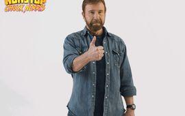 Chuck Norris vous présente son jeu vidéo, à coups de tatanes dans la tronche