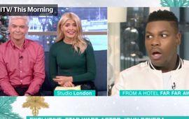 Star Wars : quand une interview se transforme en tornade de SPOILERS sous les yeux effarés de John Boyega