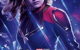 Avengers : Endgame - le look de Captain Marvel a failli poser un problème (et en révéler d'autres au fond)