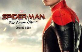 Spider-Man : Far from Home se rapproche avec de nouvelles affiches qui rappellent beaucoup Captain Marvel