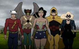 Justice Society : World War II - critique nazilleuse