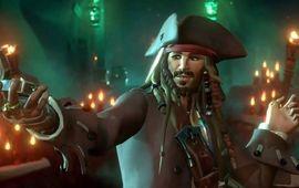 Pirates des Caraïbes : Jack Sparrow va au bout du monde pour l'extension Sea of Thieves : A Pirate's Life