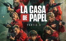 La Casa de papel Partie 5 Volume 1 : critique qui fait sa guerre sur Netflix