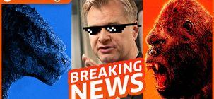 Godzilla vs Kong rugit dans sa bande-annonce, Nolan tâcle Warner à la jugulaire, RIP Rémy Julienne