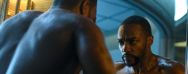 photo, Altered Carbon, Anthony Mackie