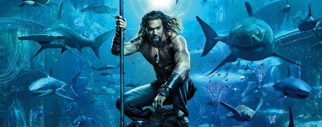 Aquaman annonce la couleur dans une première affiche folle