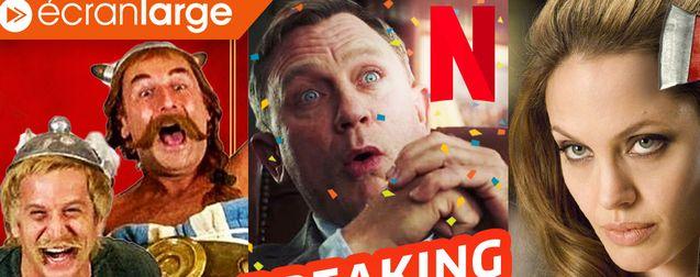 le casting de la rage, Netflix mise gros sur Daniel Craig, retour brûlant d'Angelina Jolie
