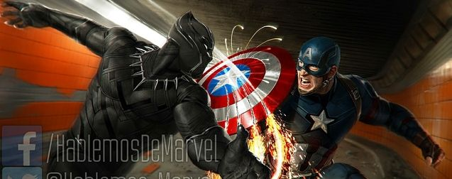 Photo Black Panther Captain America