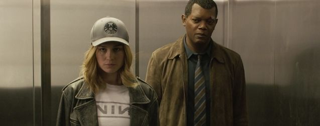 photo, Samuel L. Jackson, Brie Larson