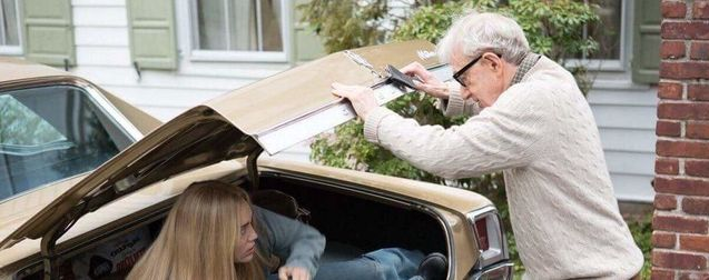 Photo Miley Cyrus, Woody Allen