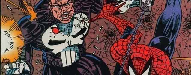 Photo Punisher Spider-Man
