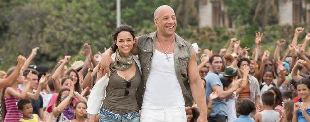 Photo Michelle Rodriguez, Vin Diesel