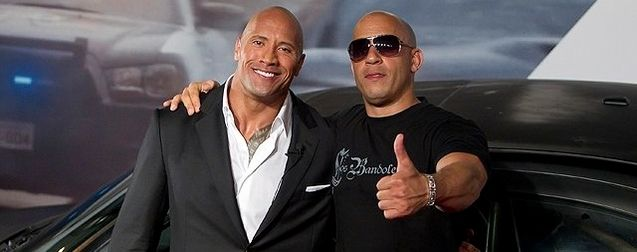 Vin Diesel Dwayne Johnson