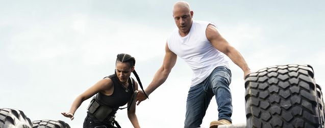 photo, Nathalie Emmanuel, Vin Diesel