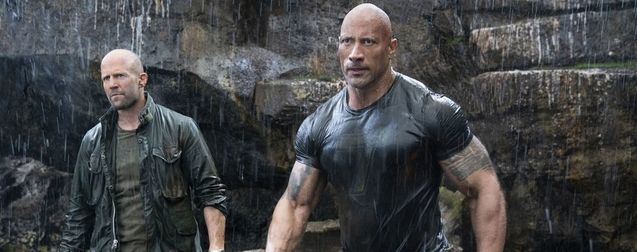 photo, Dwayne Johnson, Jason Statham