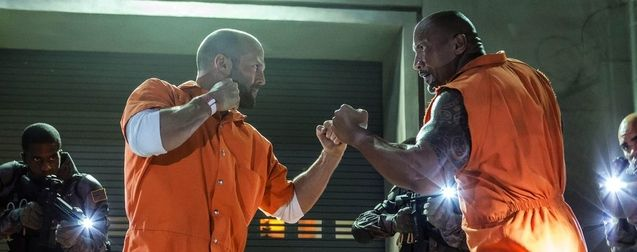 photo, Jason Statham, Dwayne Johnson