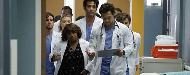 photo, Giacomo Gianniotti, Chandra Wilson