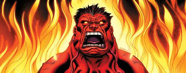 Photo Red Hulk
