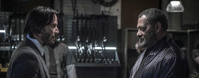 Keanu Reeves - Laurence Fishburne