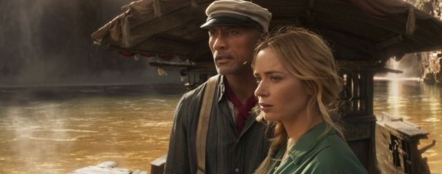 photo, Dwayne Johnson, Emily Blunt