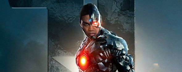 Photo affiche Cyborg, Ray Fisher