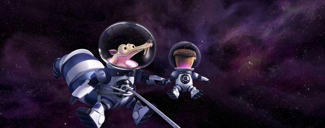 Scrat dans l'espace
