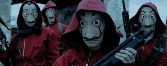 La Casa de Papel : Netflix balance un teaser pour annoncer la date de sortie de la Partie 4