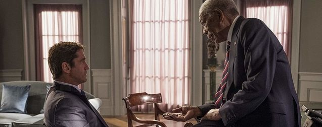 photo, Gerard Butler, Morgan Freeman