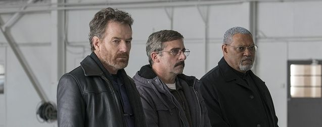 Photo Bryan Cranston, Steve Carell, Laurence Fishburne