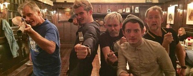 Viggo Mortensen, Orlando Bloom, Billy Boyd, Elijah Wood, Dominic Monaghan