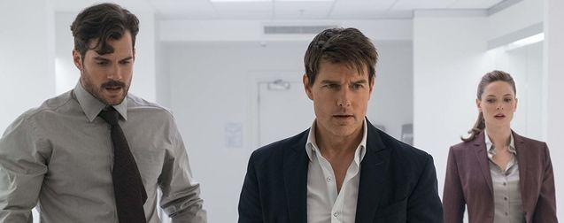 photo, Tom Cruise, Henry Cavill, Rebecca Ferguson