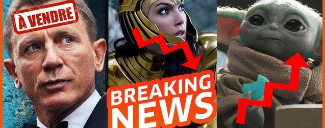 James Bond à vendre, Wonder Woman se plante au box-office et Mandalorian bouleverse Star Wars