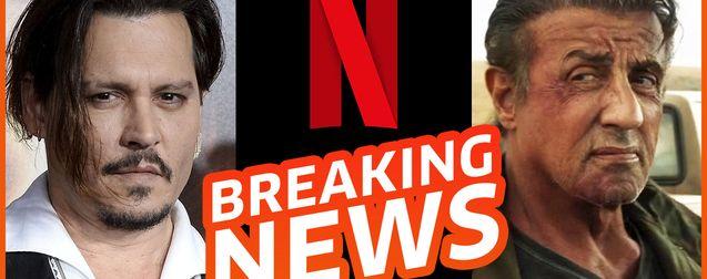 Netflix rend l'argent, les cinémas sauvés, Depp définitivement remplacé et bientôt Rambo 6 ?