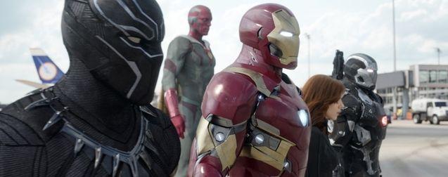 Photo Iron Man, Black Panther, Vision