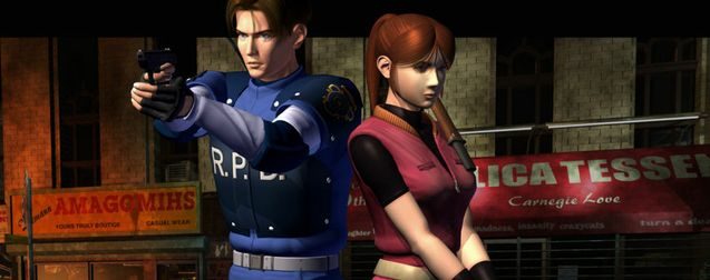 Photo Claire Redfield, Leon Kennedy, Resident Evil 2 Remake
