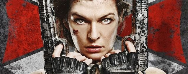 Resident Evil : The Final Chapter, Affiche Milla Jovovich