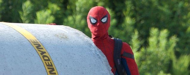 Spider-Man : Homecoming dévoile les premières photos de Tom Holland dans son nouveau costume