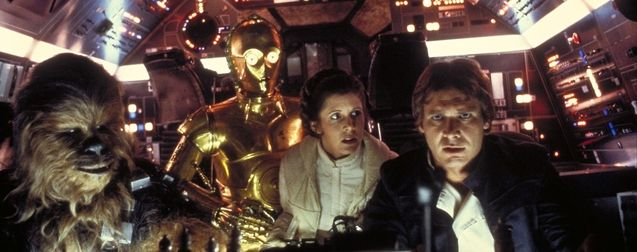 Photo Carrie Fisher, Harrison Fprd